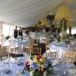 Elegantly Decorated Century Tent with Liner