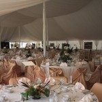 Century Tent with Full Interior Liner and Draping