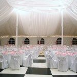 60 x 70 Century Tent with Full Floor and Ceiling Liner