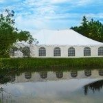 40 x 60 Conventional Tent Complete with French Window Walls