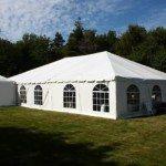 40 x 60 Frame Tent Exterior