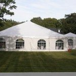 40 wide frame tent
