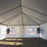 20 x 40 Frame Tent Interio