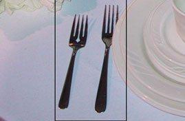 Dessert/Salad Fork, Dinner Fork