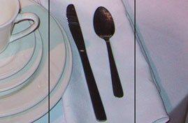 Knife, Teaspoon
