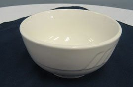 Rimless 13oz Soup Bowl - White